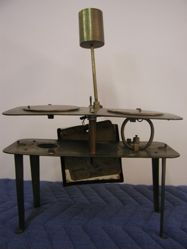 Patent model of a gasoline cook stove