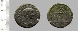 Uncertain denomination of Gordian III from Nicopolis ad Istrum
