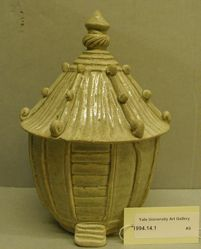 Funerary Jar in the Form of a Granary
