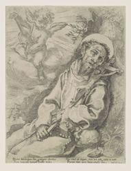 Saint Francis Consoled by a Musical Angel