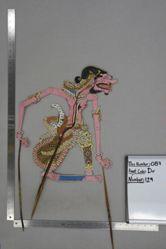 Shadow Puppet (Wayang Kulit) of Cakil, from the set Kyai Drajat