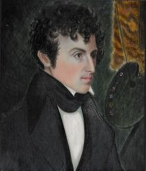 Portrait of an Artist, probably Sumner Russell (ca. 1808-1835)
