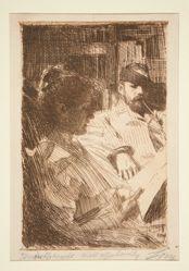 Reading (Mr. & Mrs. Charles Deering)