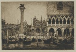 The Piazza of St. Mark, Venice