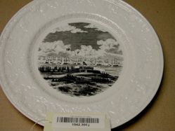 Plate: The Bombardment of Fort McHenry