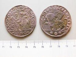 Silver Ducato of Alvise Mocenigo IV from Venice
