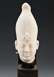 Portrait Head of King Nectanebo I (378–361 B.C.)