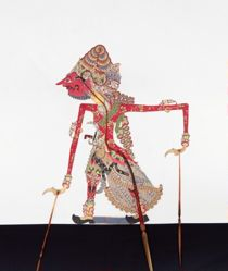 Shadow Puppet (Wayang Kulit) of Brahma, from the set Kyai Drajat