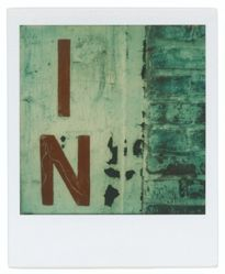 "Untitled [Sign: ""IN""]"