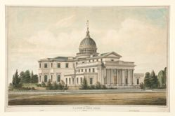 N.E. View of State House Built 1794 - Trenton, N.J. Altered & Enlarged 1845-6