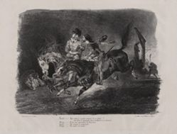 Faust et Méphistophèles galopant dans la nuit du Sabbat (Faust and Mephistopheles Galloping on the Night of the Witches' Sabbath), from Johann Wolfgang von Goethe's Faust