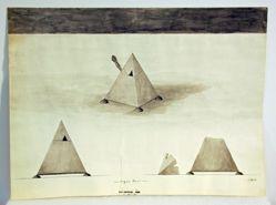 Pyramid sugar bowl