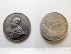 Iron medal of Count Gregori Gregorievich Orlov