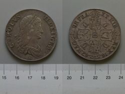 1 Crown of Charles II, King of England and Scotland from England