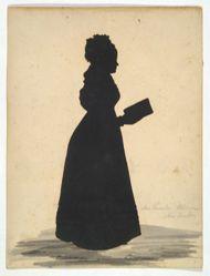 Silhouette of Mrs. Thomas Wheeler Williams, Lucretia Woodbridge Perkins, 1796/7-1829