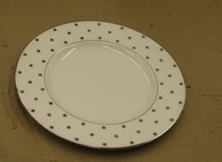 """Accent plate """"Larabee Road"""" pattern"""