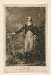 George Washington at the Battle of Trenton (1792)