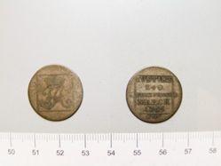 Coin of Friedrich Albrecht, Prince of Anhalt Bernburg from Anhalt Bernburg