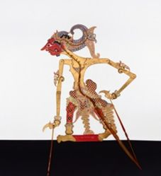Shadow Puppet (Wayang Kulit) of Setiyaki, from the consecrated set Kyai Nugroho