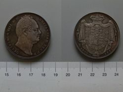 1 Crown of King William IV from England