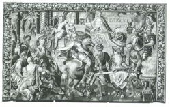 The Entry of Alexander into Babylon, from The Story of Alexander