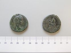 Bronze sestertius of Geta