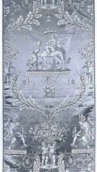 Length of compound satin, style of Louis XVI