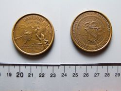 American Revolution Bicentennial Medal Danbury Conn.