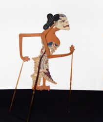 Shadow Puppet (Wayang Kulit) of Cangik, from the consecrated set Kyai Nugroho