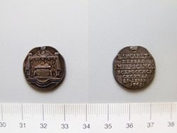 Silver mortuary medal of Elizabeth I