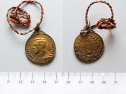 Bronze Medal from Belgium of King Albert I / In Memory of the Campaign of 1914