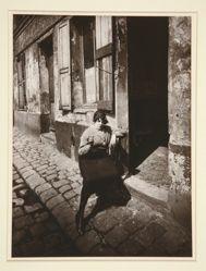 La Villette, fille publique faisant le quart, 19e. Avril 1921 (La Villette, Streetwalker Waiting for a Client, 19th arrondissement, April 1921)