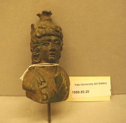 Head vase of Dionysos or Attis