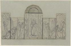 Sketch for Altarpiece