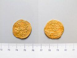 Gold dinar of Abdul Ghazi - Xinjiang