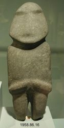 Stylized Human Figure