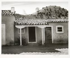 Peter Hurd Home, San Patricio, from New Mexico Portfolio