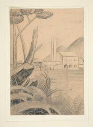 """Study for """"Landscape I"""" (1963.58)"""