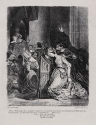 Marguerite a l'église (Marguerite in Church), from Johann Wolfgang von Goethe's Faust