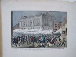 Great Riot at the Astor Place Opera House, New York