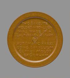 Bakelite Corporation Silver Anniversary Medal