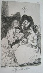 La filacion. (The Filiation.), pl. 57 from the series Los caprichos