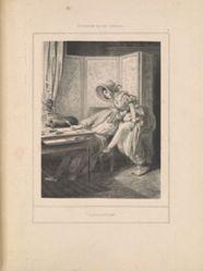 Distraction, from the series Scènes de la vie intime
