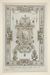 Three sheets from Ornati Presi da Graffiti, e Pitture antiche Esistenti in Firenze
