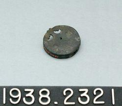 Bronze scabbard clip