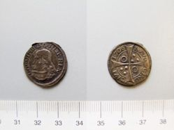 Silver groat of Charles III from Barcelona