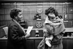 Donna Ferrato, Family Courts Must Be Fair to Mothers: Many Are Not, Cuyahoga, Ohio, from the series Holy