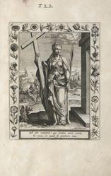 Saint Eulalia, 1 of 25 plates from the series Martyrologium Sanctarum Virginum (Female Martyr Saints)
