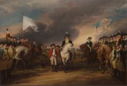 The Surrender of Lord Cornwallis at Yorktown, October 19, 1781