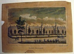 Barber's View of Yale College